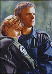 Jack O'Neill and Samantha Carter