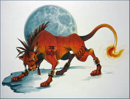 Red XIII- after Tetsuya Nomura