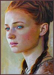 Daughter of Winterfell by DavidDeb