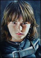 Bran Stark by DavidDeb