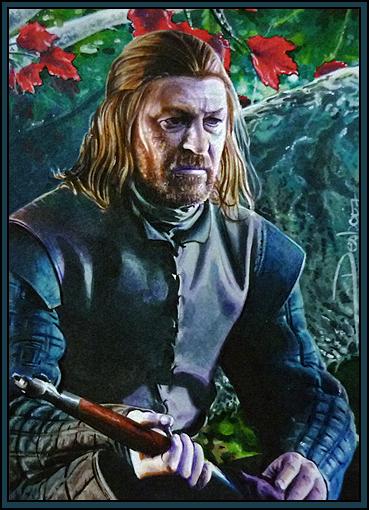 Eddard Stark by DavidDeb