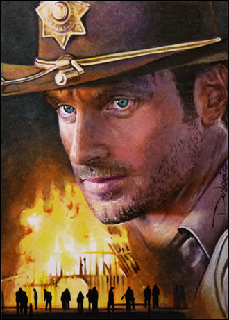 The Walking Dead -Rick Grimes by DavidDeb
