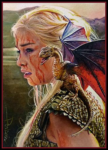 Khaleesi by DavidDeb