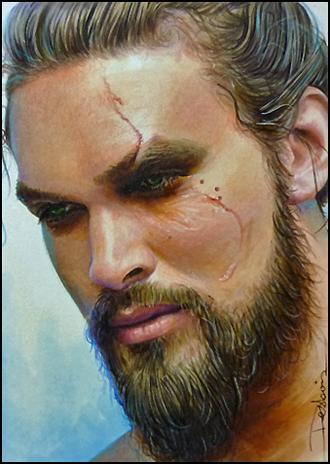 Khal Drogo by DavidDeb