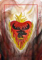 House Baratheon(Stannis) by DavidDeb