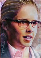 Felicity Smoak by DavidDeb