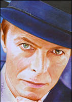 David Bowie by DavidDeb