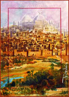 The Yellow City by DavidDeb