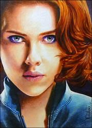 Black Widow by DavidDeb