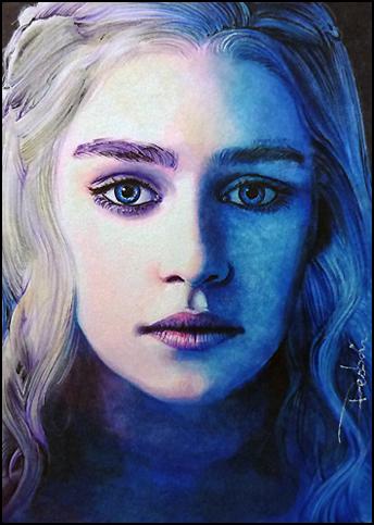 Daenerys Stormborn by DavidDeb