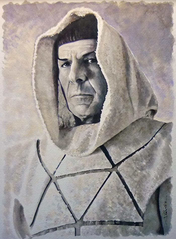 Spock by DavidDeb