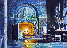 Iron Islands -Throne Room by DavidDeb