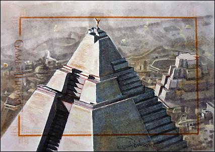 The Great Pyramid by DavidDeb
