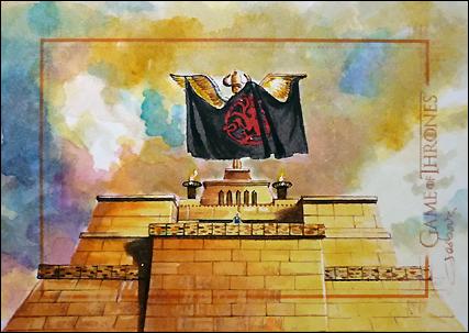 Siege of Meereen by DavidDeb