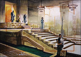 Meereen's Audience by DavidDeb