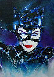 Catwoman by DavidDeb