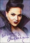 Evil Queen -autographed