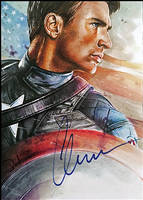 First Avenger -autographed by DavidDeb