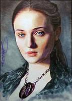 Sansa -Black Swan by DavidDeb