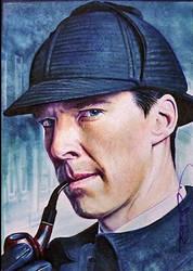 Sherlock Holmes by DavidDeb