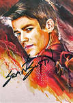 The Flash -autographed