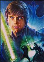 Luke Skywalker by DavidDeb