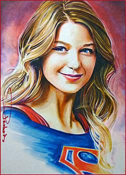 Portrait of Supergirl