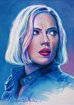 Blonde Widow