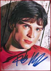 Clark Kent- autographed by DavidDeb