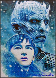 Bran and the Night King