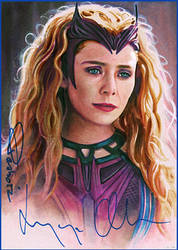 Scarlet Witch -autographed
