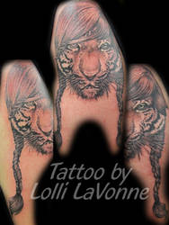 Lady or the Tiger by lavonne