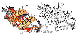 Shoot Straight by lavonne