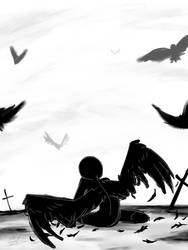 Why you wanna fly blackbird? by Br0ken-Sky