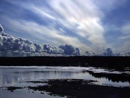 Sky view over ostersund by MattiasDahlqvist