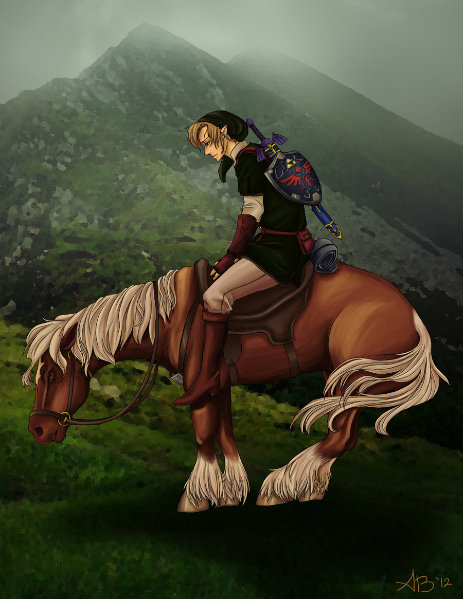 Never-ending Trail by chai--tyto