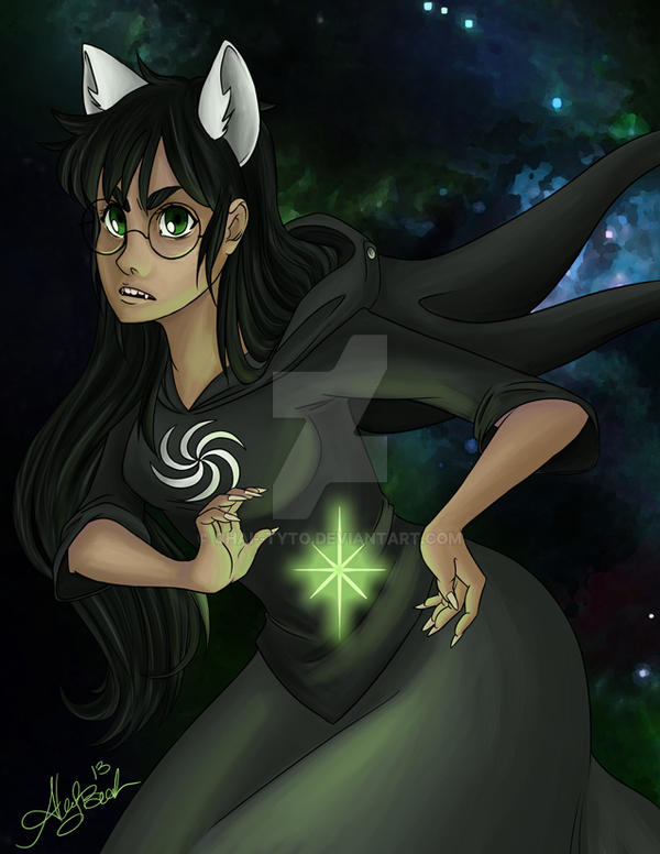 Witch of Space by chai--tyto