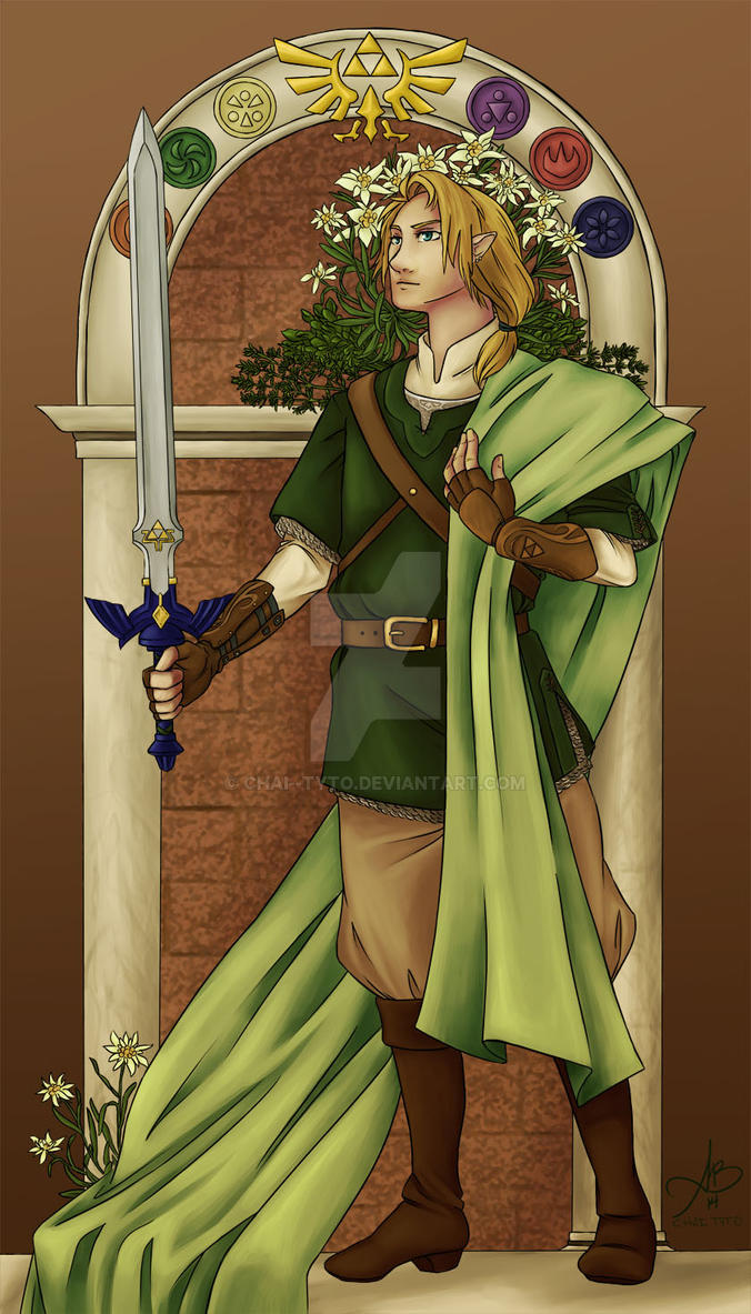 Protector of Hyrule by chai--tyto