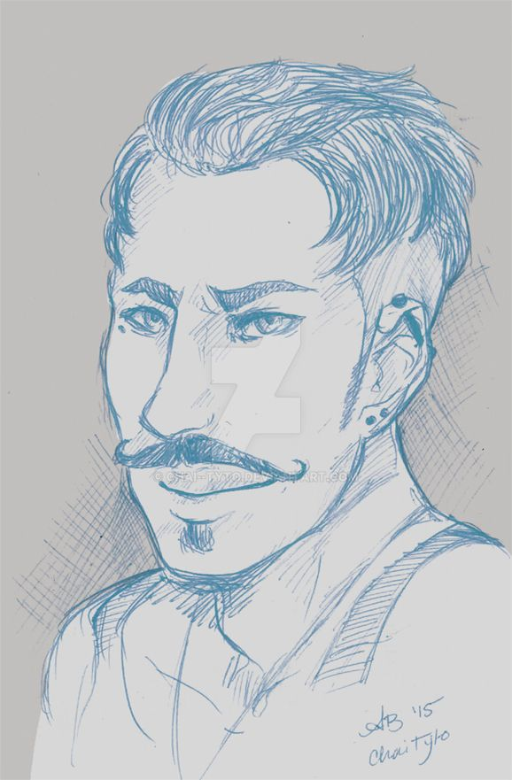 Dorian pen sketch by chai--tyto
