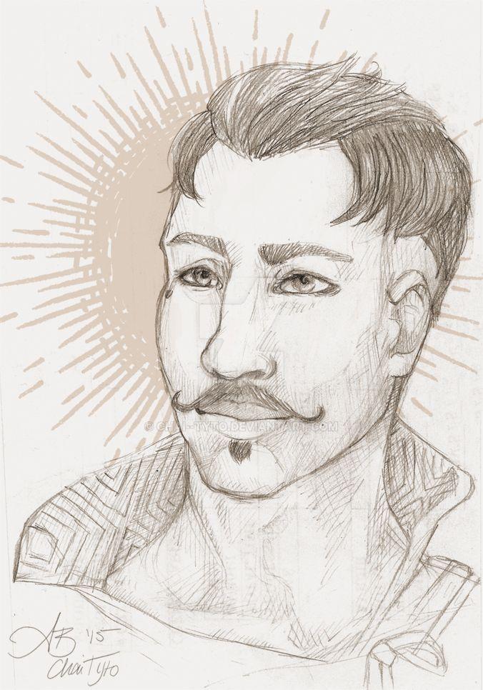 Dorian sketch 2 by chai--tyto