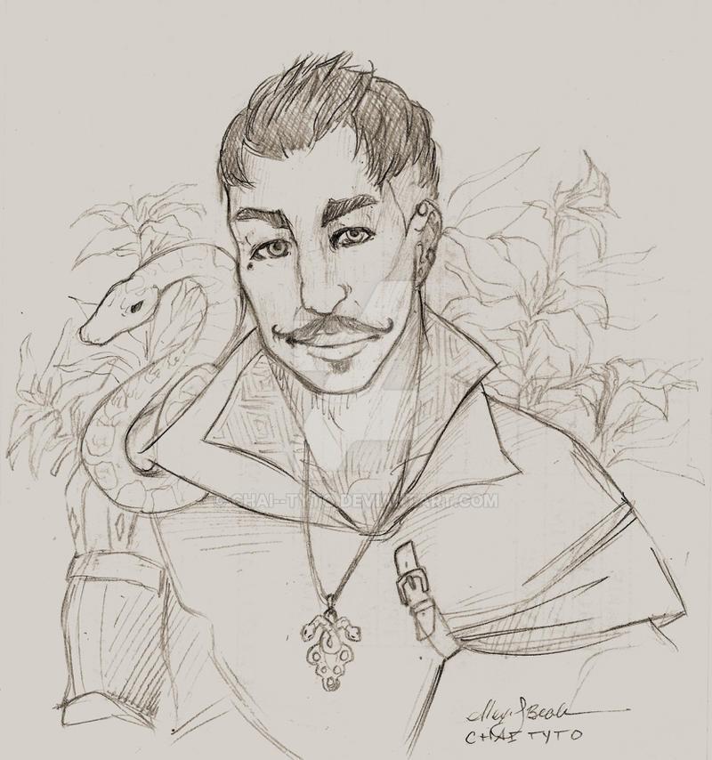 Dorian sketch 3 by chai--tyto