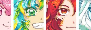 Pixel Seasons by Mikanban