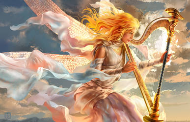 Goddess of Air by JP-Vilela