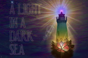 A Light in a Dark Sea by 8thThoughtExperience