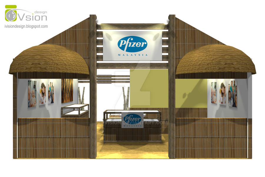 Simple Exhibition Stand Design : Exhibition booth design pfizer by ivision on deviantart