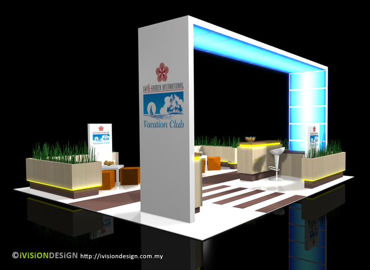 Exhibition Booth Design D : Exhibition booth design by ivision on deviantart