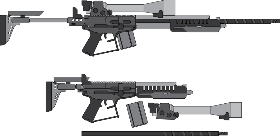 Imperium stealth rifle by madcomm