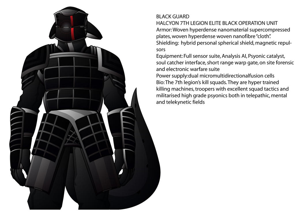 BLACK GUARD by madcomm