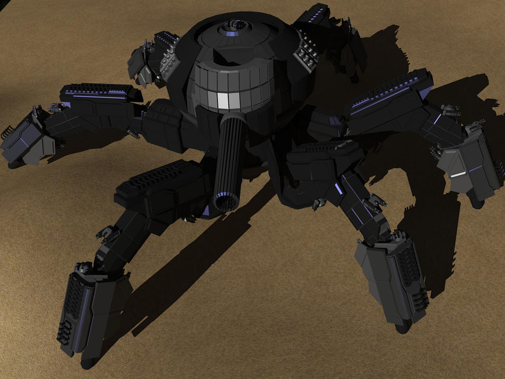 7th legion warspider top view by madcomm