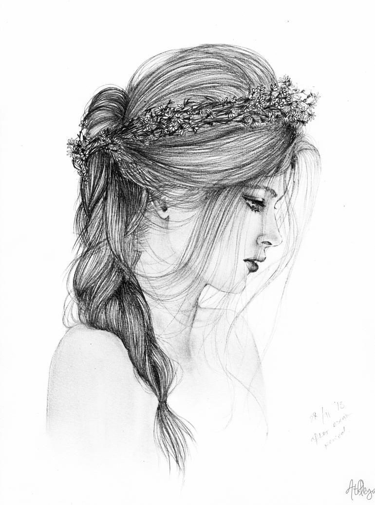 Flower crown girl by slippingspecs on deviantart flower crown girl by slippingspecs izmirmasajfo